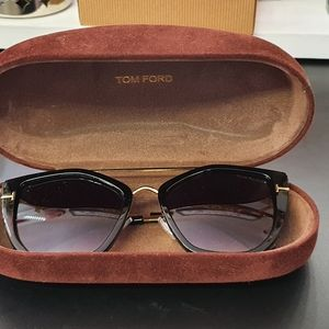 Tom Ford FT0648 01B Women's Sunglasses - NEW